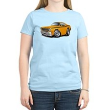 Duster Orange-Black Car T-Shirt