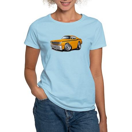 Duster Orange-Black Car Women's Light T-Shirt
