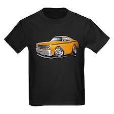 Duster Orange-Black Car T