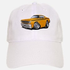 Duster Orange-Black Car Baseball Baseball Cap