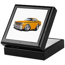 Duster Orange-Black Car Keepsake Box