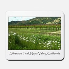 wine country silverado trail Mousepad
