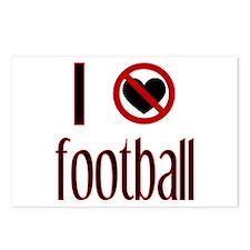 I Do Not Love / Heart Footbal Postcards (Package o