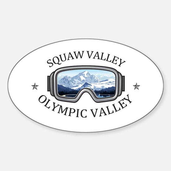 Squaw Valley - Olympic Valley - Californ Decal