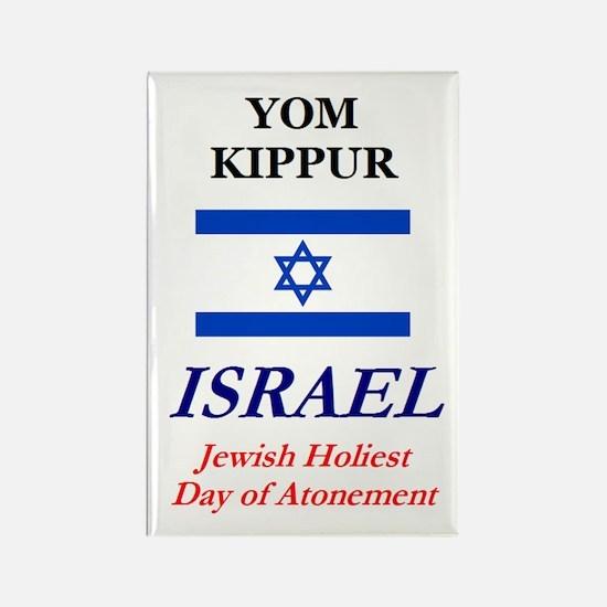 Yom Kippur Rectangle Magnet