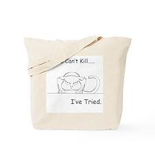 Looks Can't Kill (cat) Tote Bag