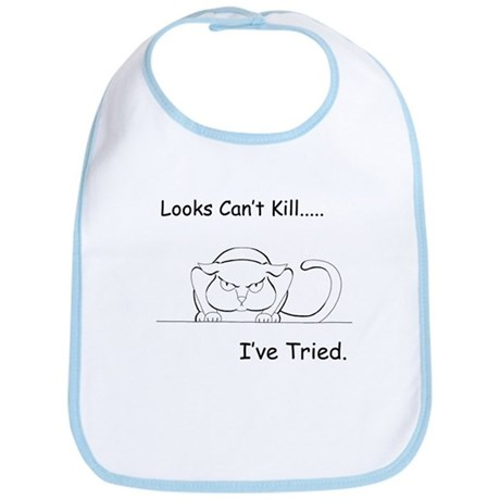 Looks Can't Kill (cat) Bib