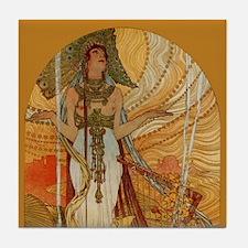 Alphonse Mucha Salammbo Tile 1 0f 2 Art Tile Set