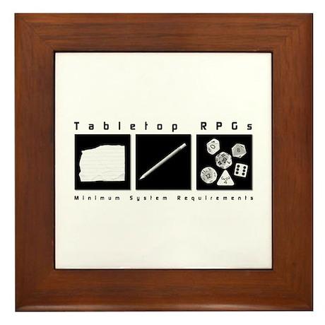 Tabletop RPG Framed Tile