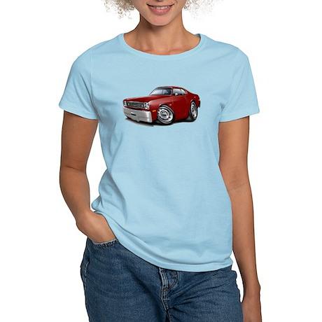 Duster Maroon-Black Car Women's Light T-Shirt