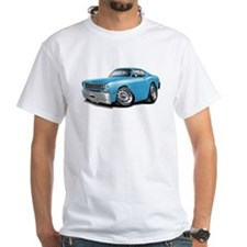 Duster Lt Blue-White Car Shirt