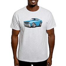 Duster Lt Blue-White Car T-Shirt