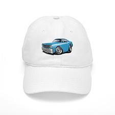 Duster Lt Blue-White Car Baseball Cap