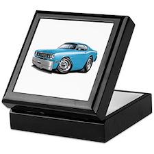 Duster Lt Blue-White Car Keepsake Box