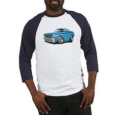 Duster Lt Blue-Black Car Baseball Jersey