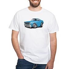 Duster Lt Blue-Black Car Shirt