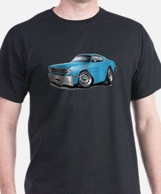 Duster Lt Blue-Black Car T-Shirt