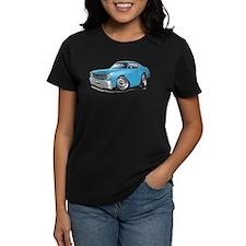 Duster Lt Blue-Black Car Tee