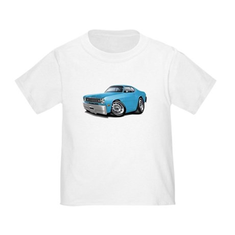 Duster Lt Blue-Black Car Toddler T-Shirt