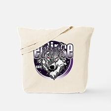 Eclipse Wolf Indigo by twibaby Tote Bag