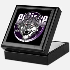 Eclipse Wolf Indigo by twibaby Keepsake Box