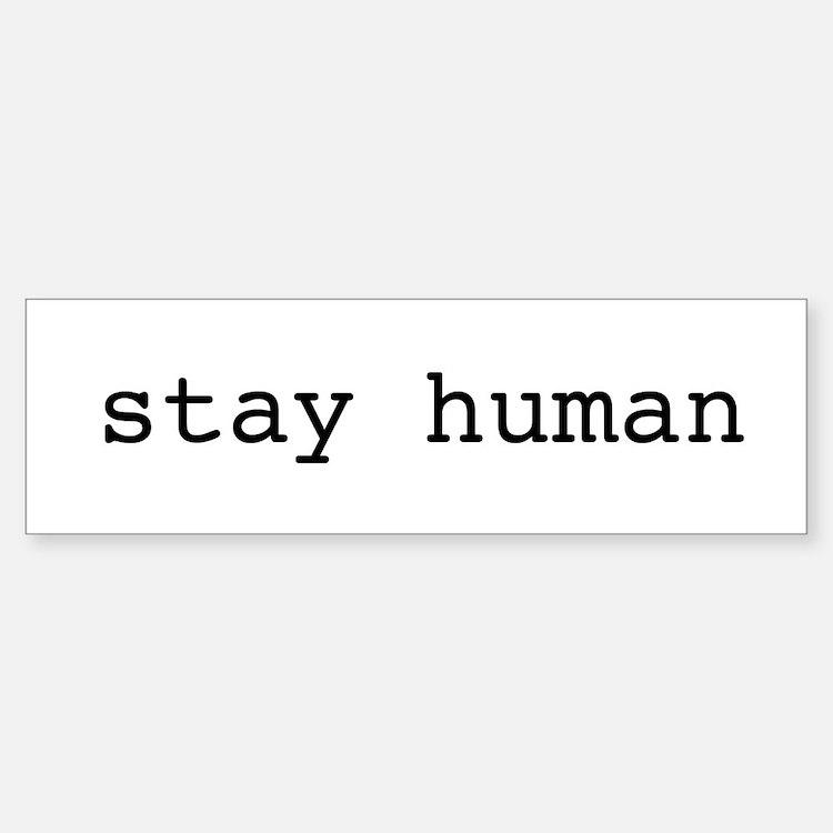Cute Human Sticker (Bumper)