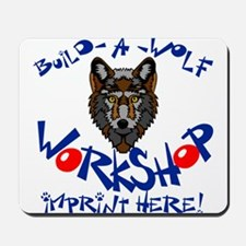 Build-A-Wolf Mousepad
