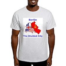 Berlin: The Divided City Ash Grey T-Shirt