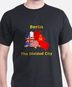 Berlin: The Divided City Black T-Shirt