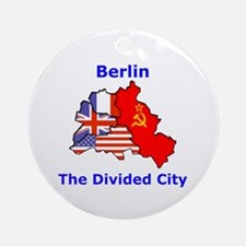 Berlin: The Divided City Ornament (Round)