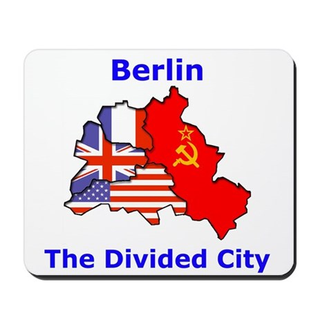 Berlin: The Divided City Mousepad