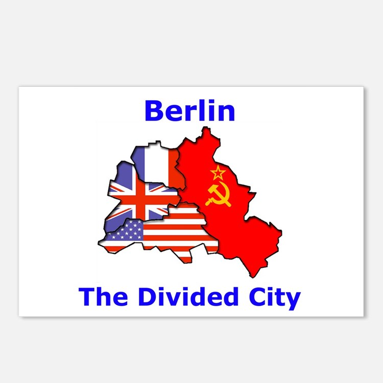 Berlin: The Divided City Postcards (Package of 8)