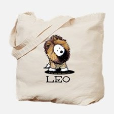 LEO Lion Westie Tote Bag