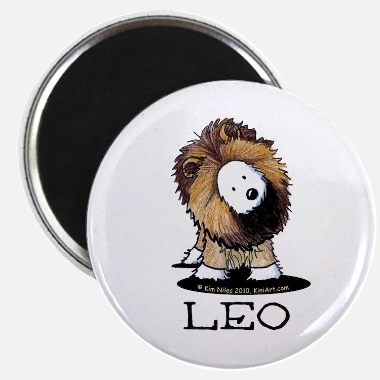"""LEO Lion Westie 2.25"""" Magnet (100 pack)"""