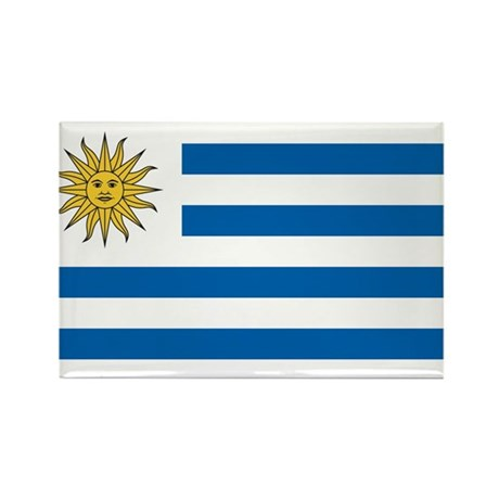 Flag of Uruguay Rectangle Magnet