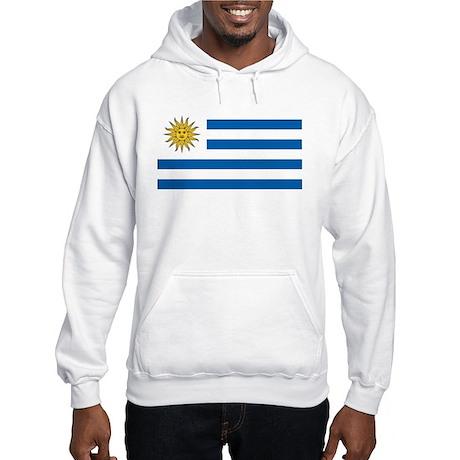 Flag of Uruguay Hooded Sweatshirt
