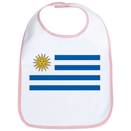 Flag of Uruguay Bib