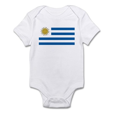 Flag of Uruguay Infant Bodysuit