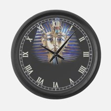 Cute Maskes Large Wall Clock