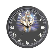 Unique King tut Wall Clock