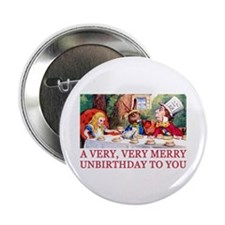 """A VERY MERRY UNBIRTHDAY 2.25"""" Button (10 pack)"""