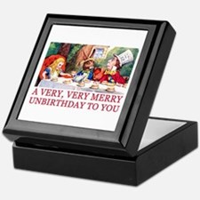A VERY MERRY UNBIRTHDAY Keepsake Box