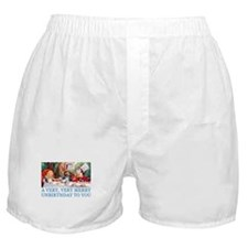 A VERY MERRY UNBIRTHDAY Boxer Shorts