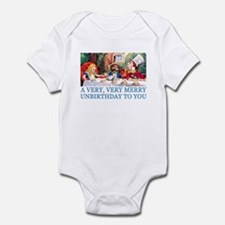 A VERY MERRY UNBIRTHDAY Infant Bodysuit