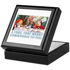 A VERY MERRY UNBIRTHDAY Keepsake Box