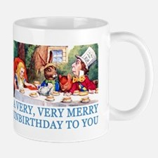 A VERY MERRY UNBIRTHDAY Small Mugs