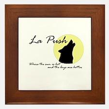 La Push Wolves Framed Tile