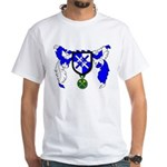 Tobias Morgan's White T-Shirt