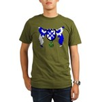 Tobias Morgan's Organic Men's T-Shirt (dark)