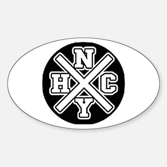NYHC Sticker (Oval)
